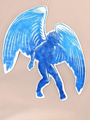 angelot bleu