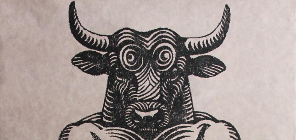 minotaure - gravure