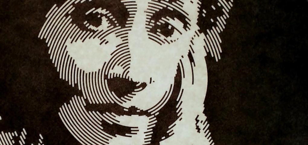 virginia woolf - gravure sur bois