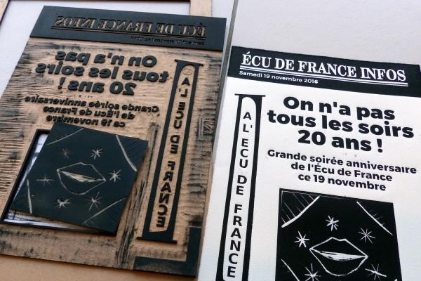 anniversaire de l'Ecu de France 2016