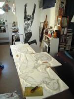 trialiste gravure plaque