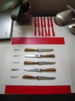 Couteaux gravure