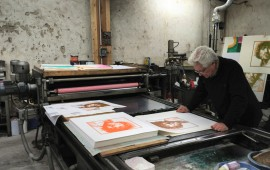 Rembrandt - impression - atelier Vincent Auger