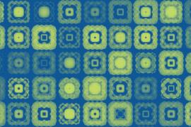 Processing - motif carrés répétitif