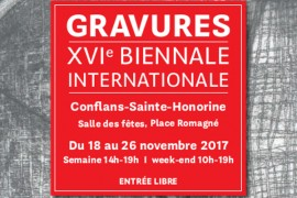 16e Biennale de gravure de Conflans-Sainte-Honorine